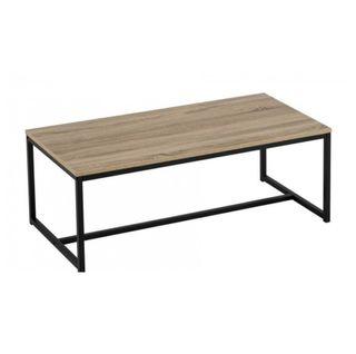 Mesa de centro hierro/madera