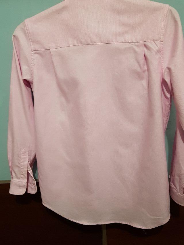 Camisa rosa de Tizas