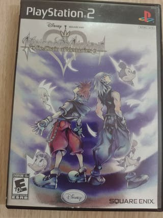 Kingdom Hearts Re:Chain of Memories PS2