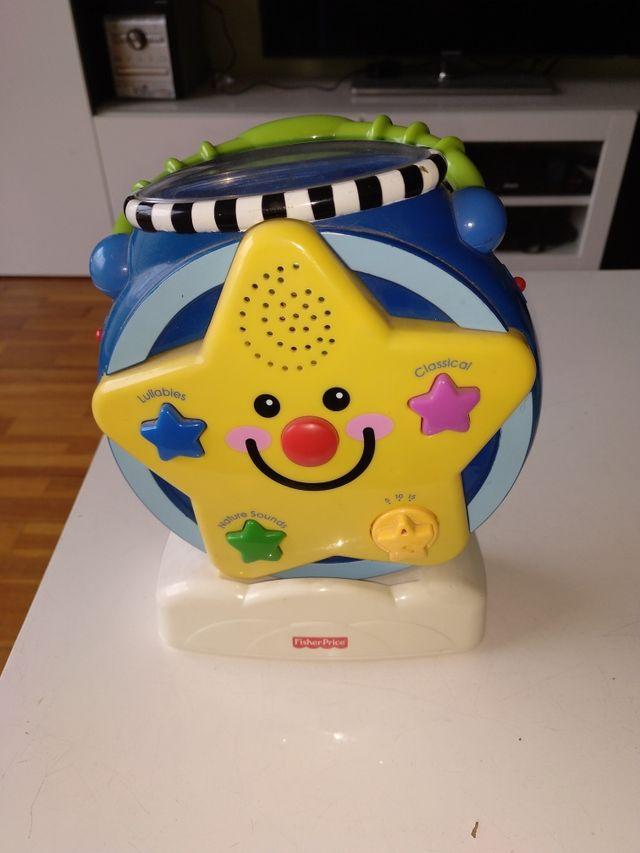 proyector bebé Fisher price