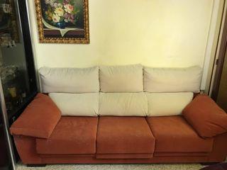 Sofa 3 plazas amplias y comodas