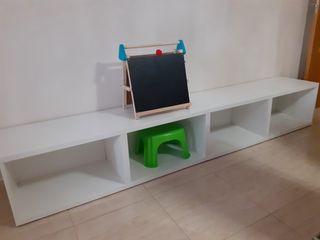 Mueble seminuevo- 2 módulos combinables