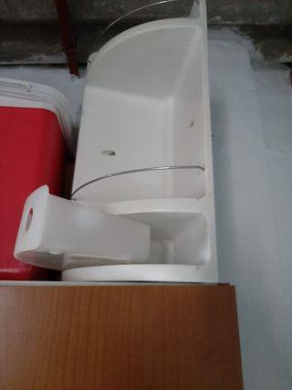 estante de plástico