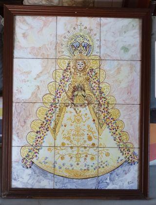 Cuadro/ Azulejo Virgen del Rocio!