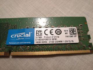 Intel Core i7 6700 + RAM 16 Gb Crucial DDR4 2133