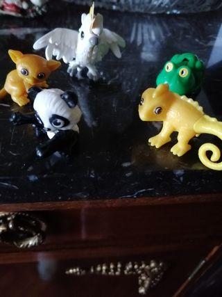 figuras de huevo kinder, nantoons
