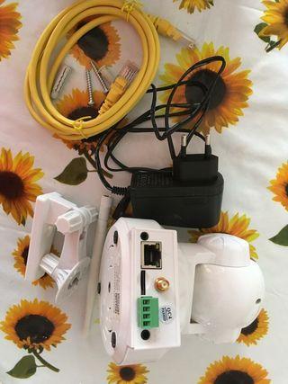 Cámara Videovigilancia y de Seguridad IP-Wifi