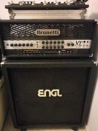 amplificador brunetti XL r-evo II