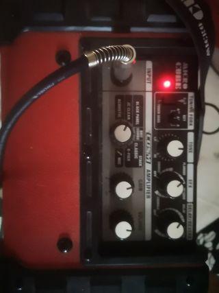 Guitarra fender y amplificador...