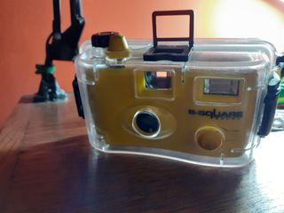 cámara de fotos acuatica
