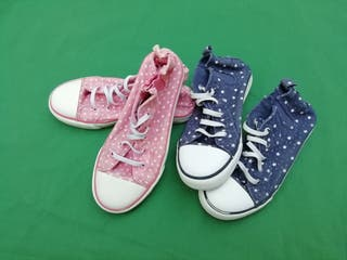 2 pares sneakers talla 32