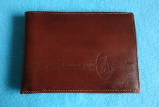 Cartera - billetera cuero. NUEVA