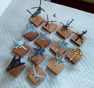Colección aviones y helicópteros Maisto