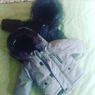 Abrigo bebé talla 0-3 meses.Ideal gemelos/mellizos