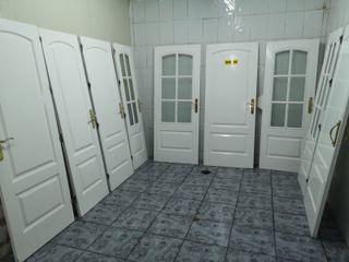 Puertas madera maciza lacada blanca buen estado