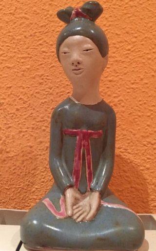 Figura Japonesa Porcelana ED Limitada