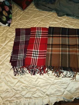 Bufandas nuevas