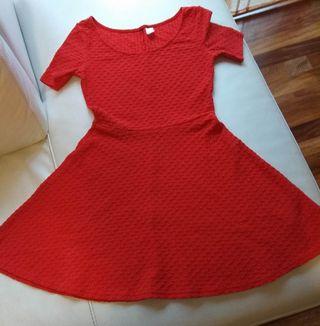 vestido rojo mujer.36/38. Perfecto