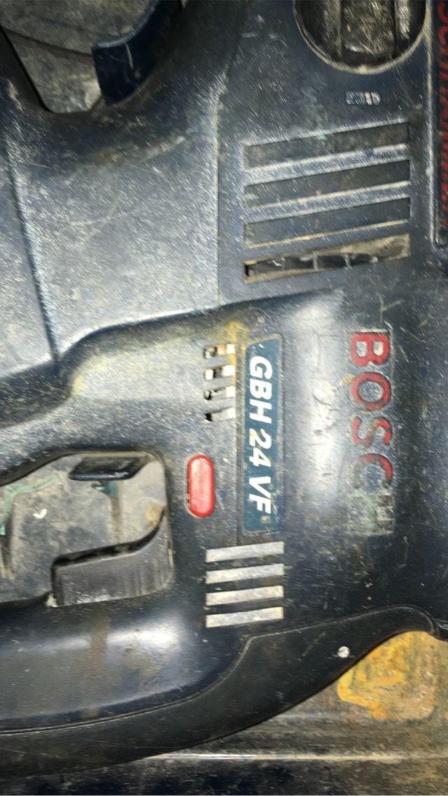 Taladro batería BOSCH GBH24 VF