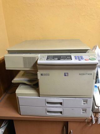 Fotocopiadora, escáner Ricoh