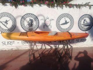 kayak individual cerrado rotomod solo travesia
