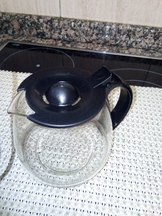 jarra cristal cafetera