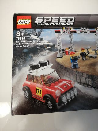 LEGO 75894 SPEED CHAMPIONS MINI COOPER AND BUGGY