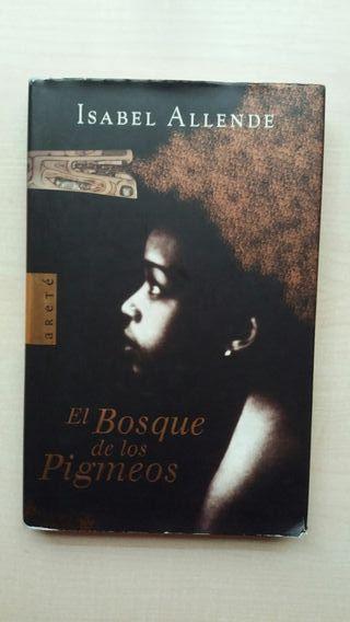 Libro El bosque de los Pigmeos. Isabel Allende.