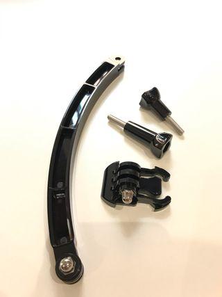 Prolongador 12cm para cámara de acción tipo gopro