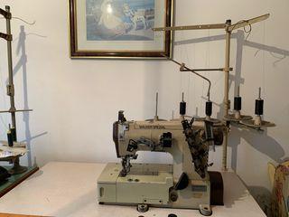Màquina de cosir recobridora/máquina de coser