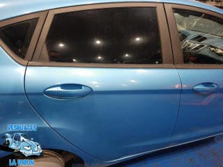 Puerta trasera derecha azul Ford Fiesta 5 P 2009