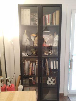 librería vitrina estantería Ikea Billy
