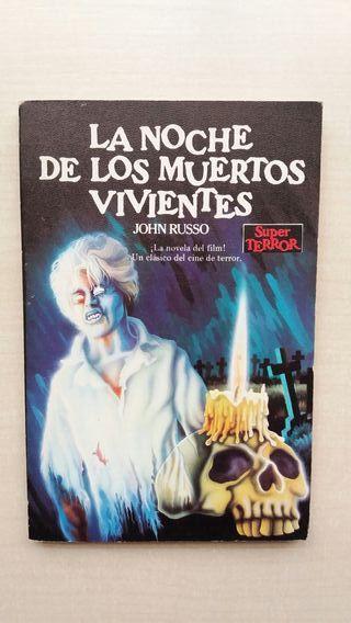 Libro La noche de los muertos vivientes. Russo.