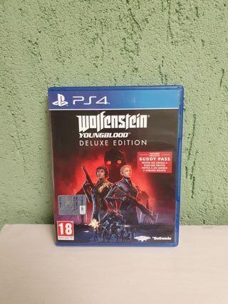 Wolfenstein Youngblood Edicion Deluxe para PS4