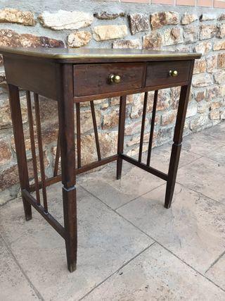Mesa escritorio antigua década 40