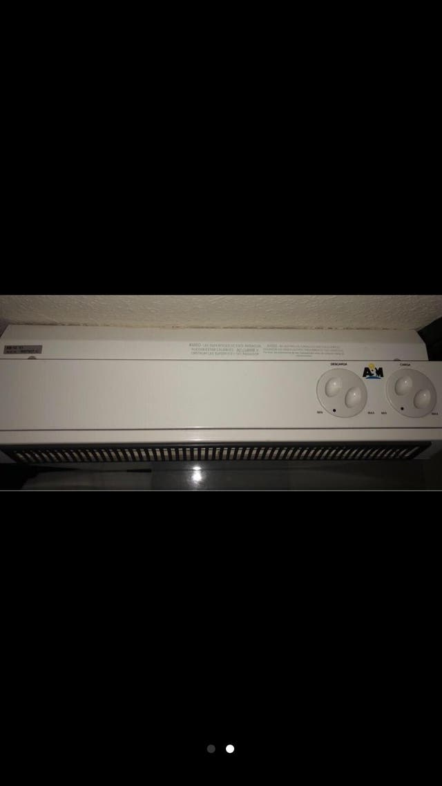 Estufa calefactora