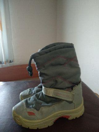 botas de nieve talla 32