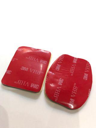 Adhesivos 3M doble cara pack 4uds para gopro
