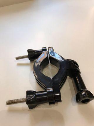Soporte de barra para cámara deportiva tipo gopro