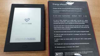 Energy Ereader Max. Ebook táctil
