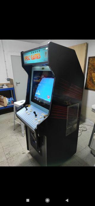 Máquina recreativa arcade original super Pang