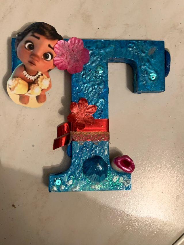 Letras decoradas cumpleaños, nacimiento..