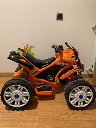 Moto Quad electrico infantil