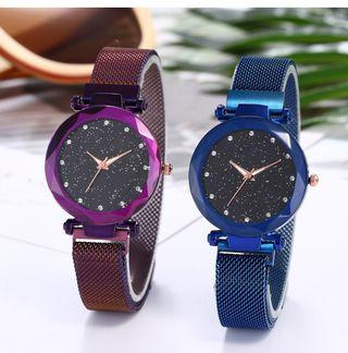 Reloj femenino reloj cielo estrellado