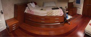Mueble cama + 2 colchones