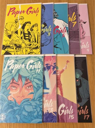 Paper Girls, números del 1 al 17