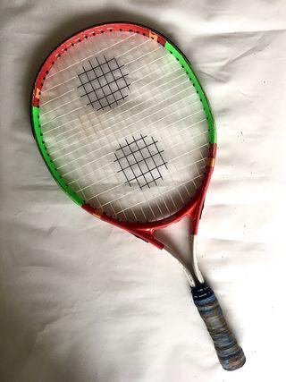 Raqueta Tenis Infantil + Funda