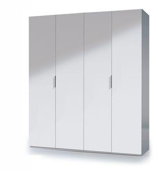 Armario dormitorio grande 4 puertas 200x180