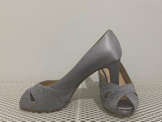 Zapatos plata fiesta
