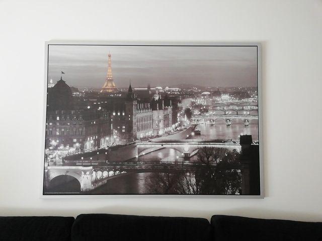 cuadro grande Paris de Ikea